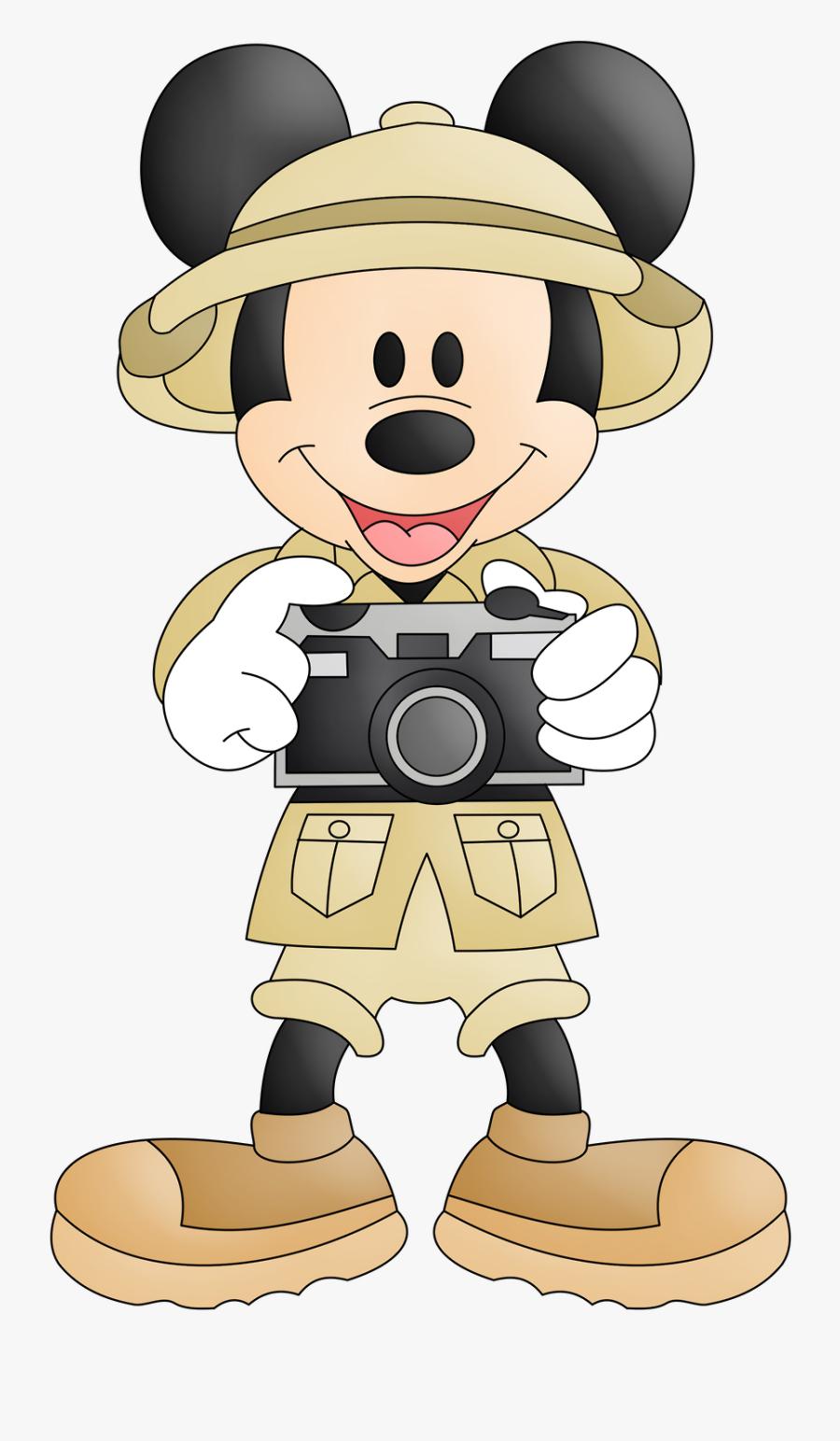 Safari Clipart Mickey.