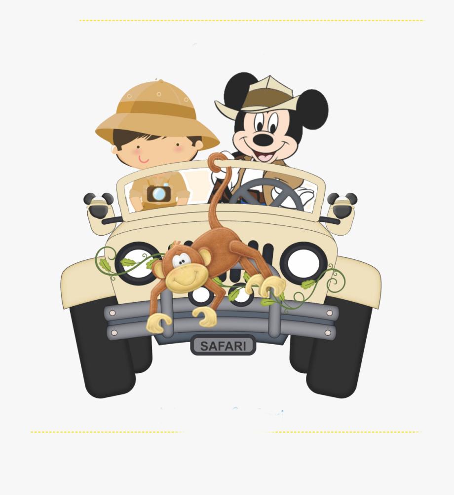 Mickey Safari Png.