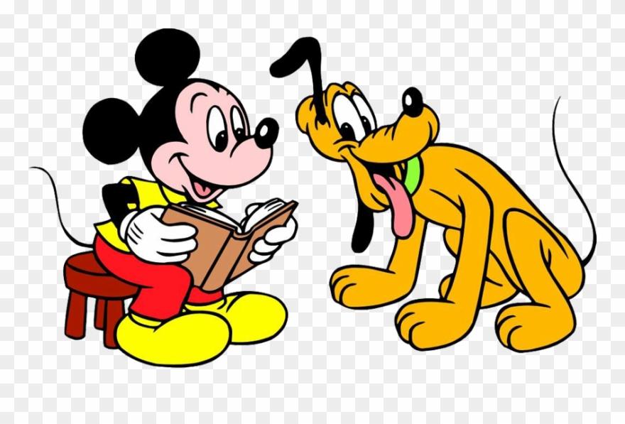 Mickey & Pluto Clipart.