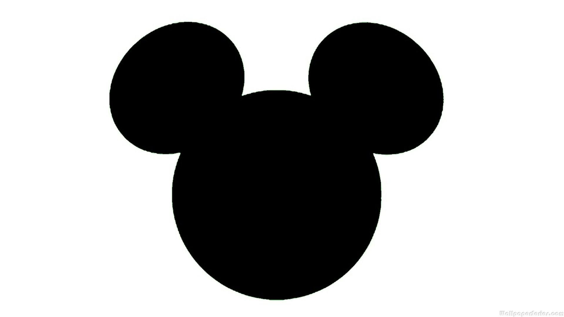 Free Mickey Mouse Head Silhouette, Download Free Clip Art.