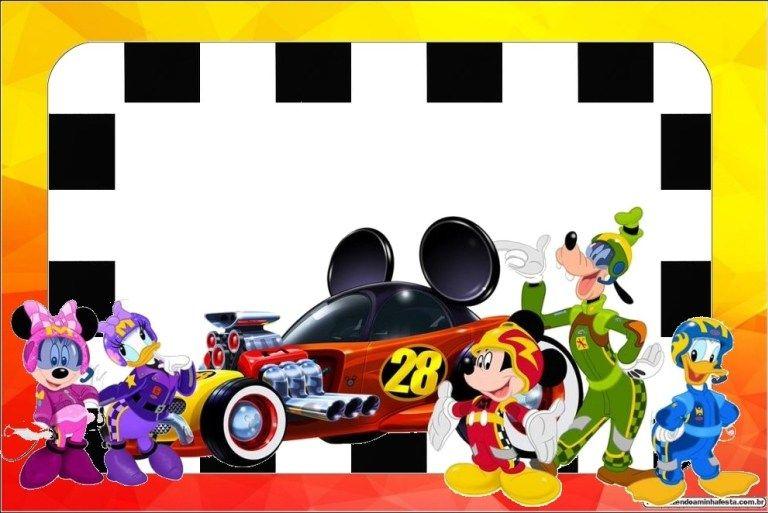 Mickey Aventura Sobre Rodas.