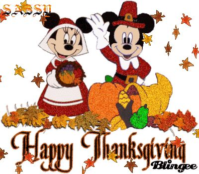 Mickey Mouse Thanksgiving Clipart.