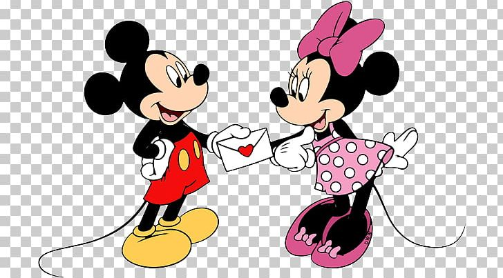 Minnie Mouse Mickey Mouse Minnie\'s Valentine Goofy.