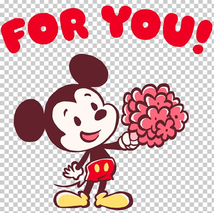 Valentine\'s Day Mickey Mouse Minnie Mouse The Walt Disney.
