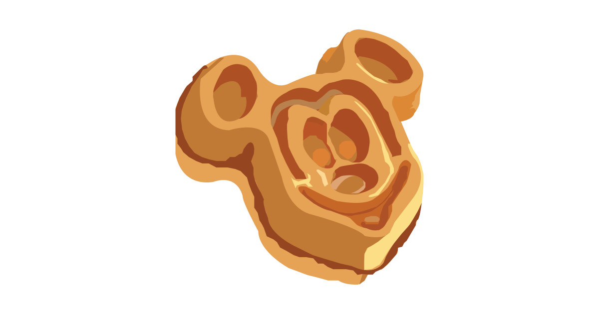 Mickey Waffle by teeourguest.