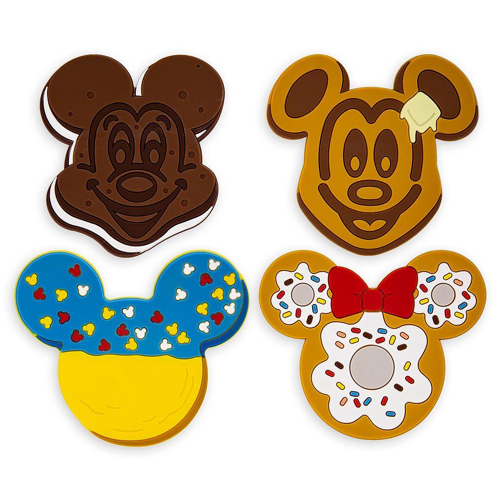 Disney Parks Food Icons Coaster Set.