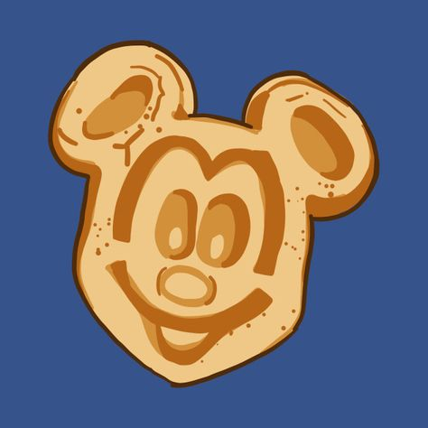 Mickey Waffle by crystalfriedman.