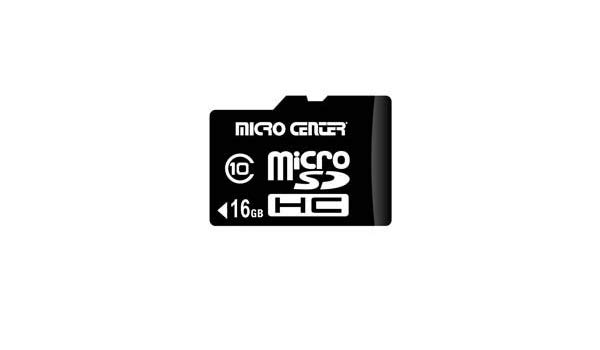 Amazon.com: Micro Center 16GB microSDHC Class 10 Flash.