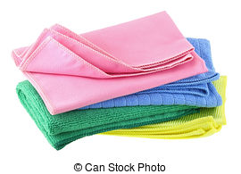 Cleaning cloth clipart.