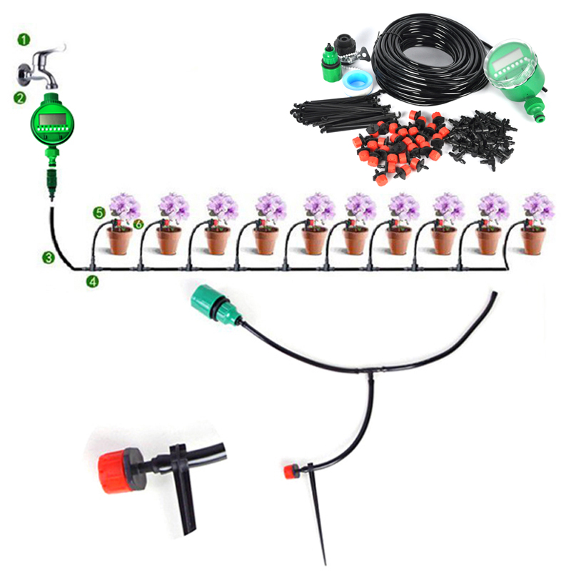 Aliexpress.com : Buy 25m DIY Micro Drip Irrigation System Plant.