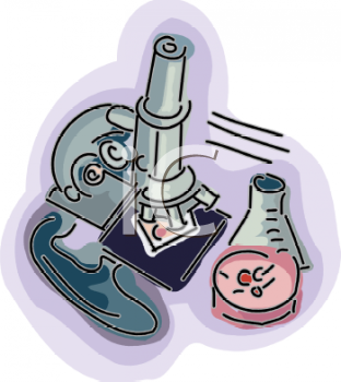 Microbiology Clipart.