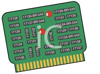 Computer Microchip.