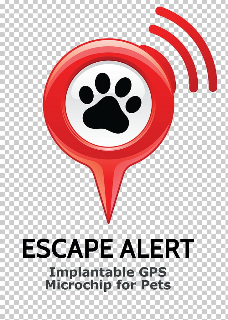 Dog Cat GPS Navigation Systems Microchip Implant Logo PNG.