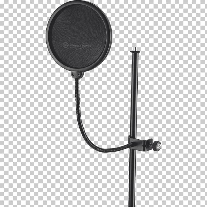 Soportes de micrófonos Pop Filter Estudio de audio.