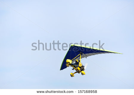 Microlight Stock Images, Royalty.