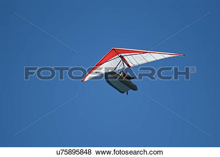 Pictures of Microlight boat in flight over the Adriatic ocean.