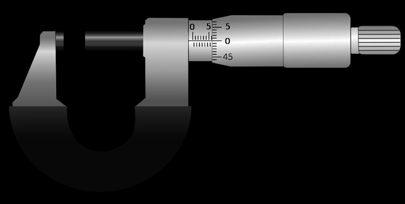 Free Micrometer Clip Art.