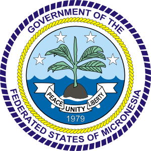 Coat Of Arms Of The Federated States Of Micronesia clip art Free.