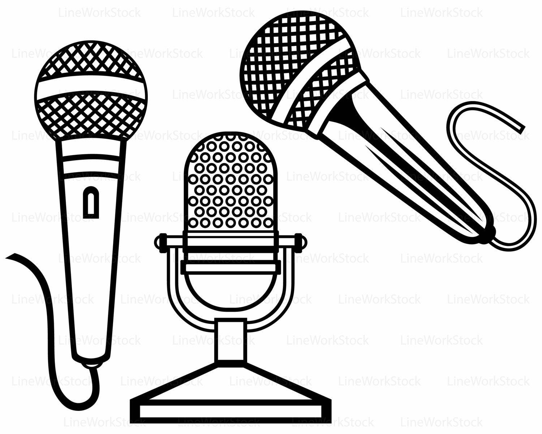 Microphone svg,microphone clipart,microphone svg,microphone.