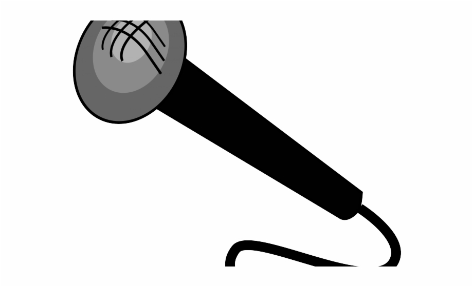 Music Notes Clipart Microphone.