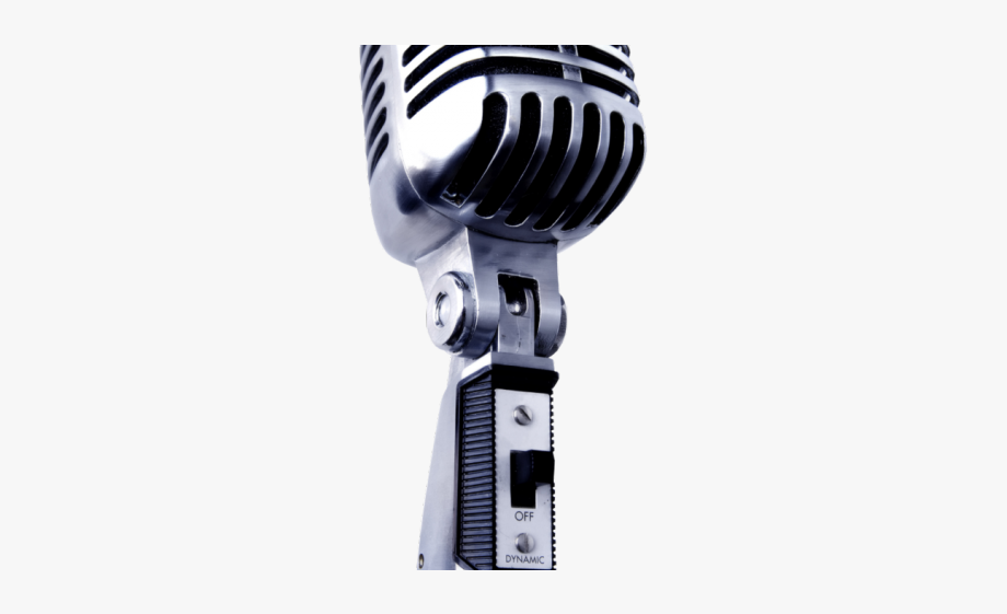 Microphone Clipart Transparent Background.