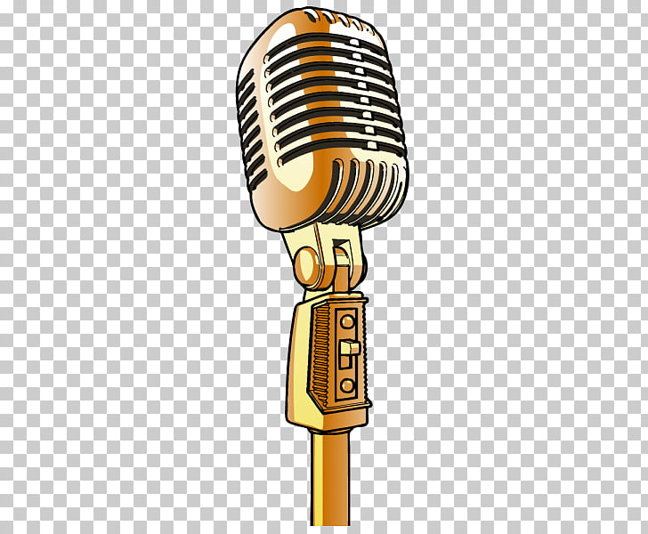 Microphone Cartoon , microphone,microphone, orange condenser.