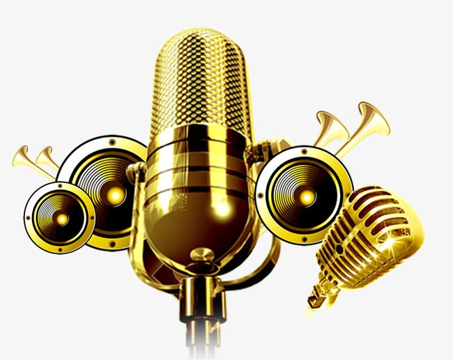 The Microphone Is Shocking The, Microphone Clipart, Concert.