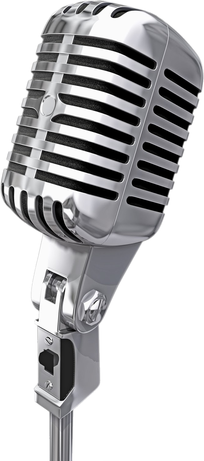 Microphone PNG image free download.
