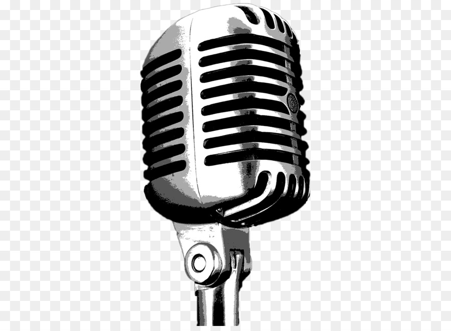 Wireless Microphone Drawing Disc Jockey #44910.