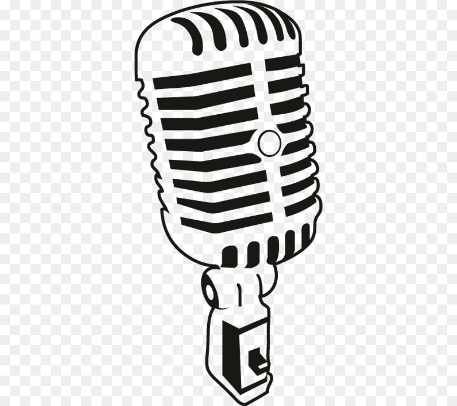 Download Free png Microphone Silhouette Clip art Mic.