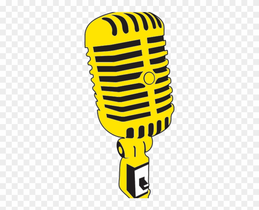 Vintage Microphone Vector Clipart (#3522561).