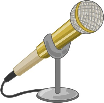 Microphone Clipart.