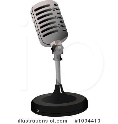 Microphones Clip Art.