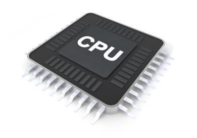 Microprocessor clipart.