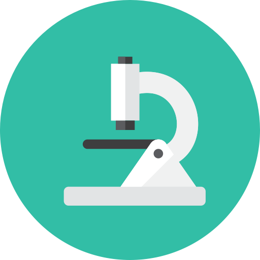 Microscope icon.