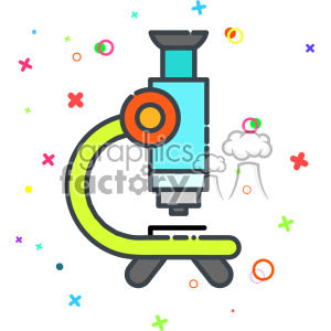 Microscope vector clip art images clipart. Royalty.