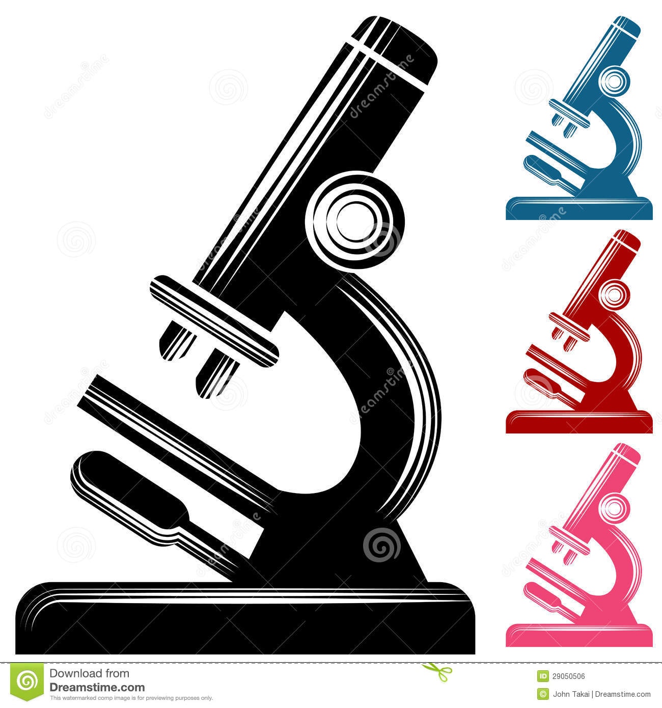 Microscope Clipart Stock Photos, Images, & Pictures.