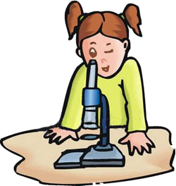 Microscope clipart for kids.