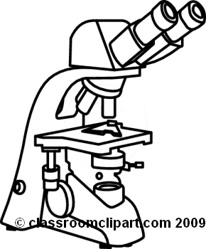 Microscope Clipart Black And White.