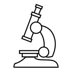 Microscopio Para Colorear.