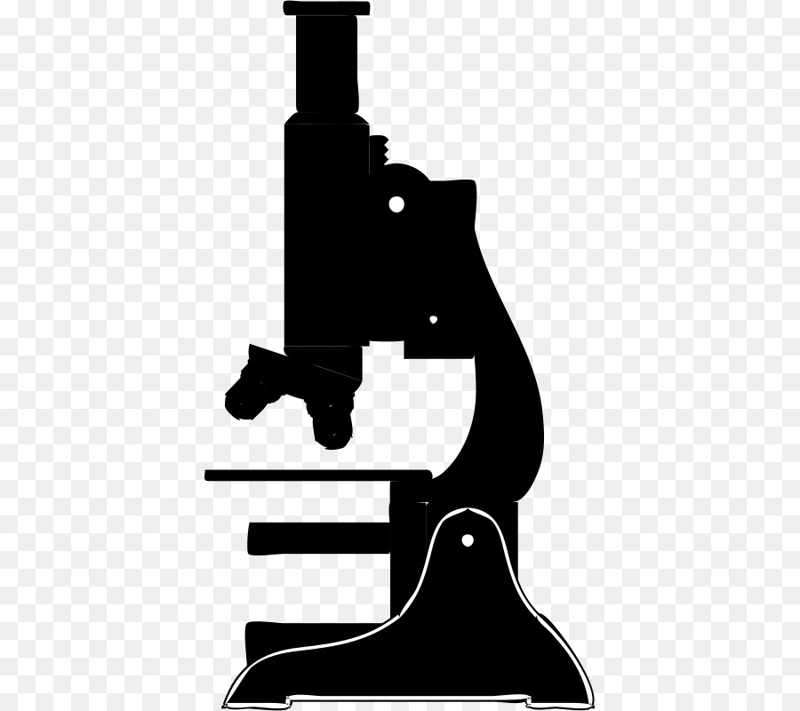 Microscope Cartoon clipart.