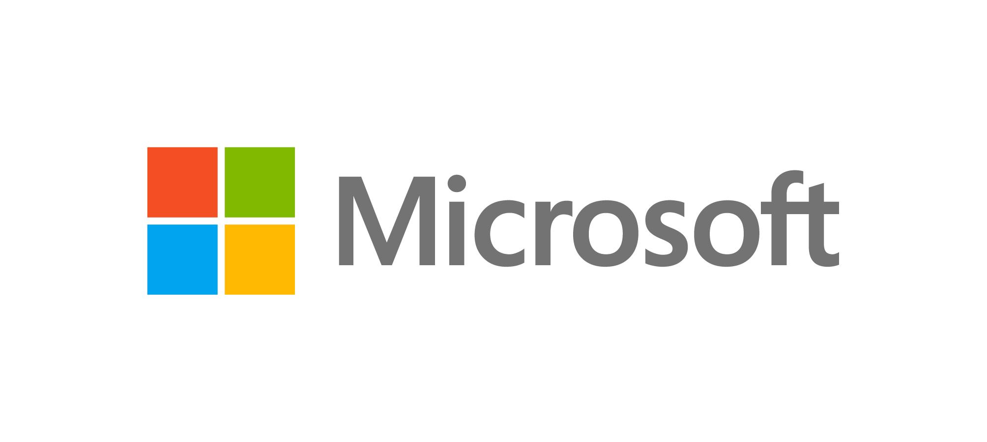 Microsoft Corporate Logo Guidelines.