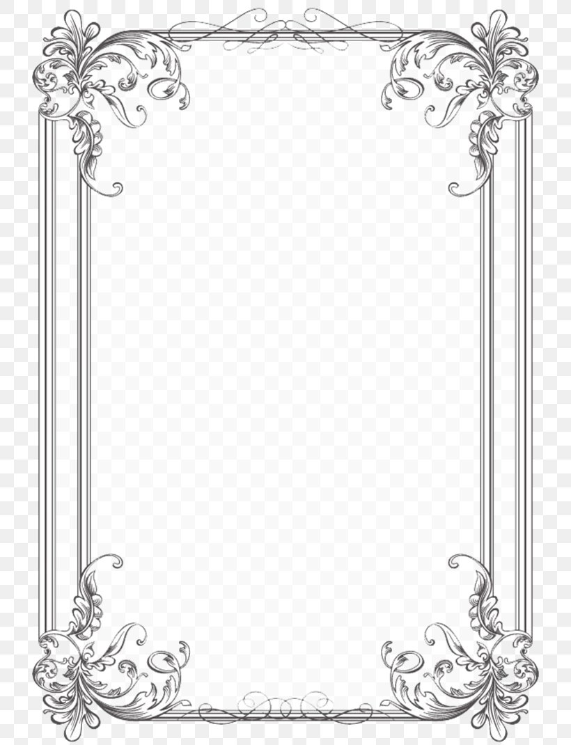 Borders And Frames Wedding Invitation Picture Frames.