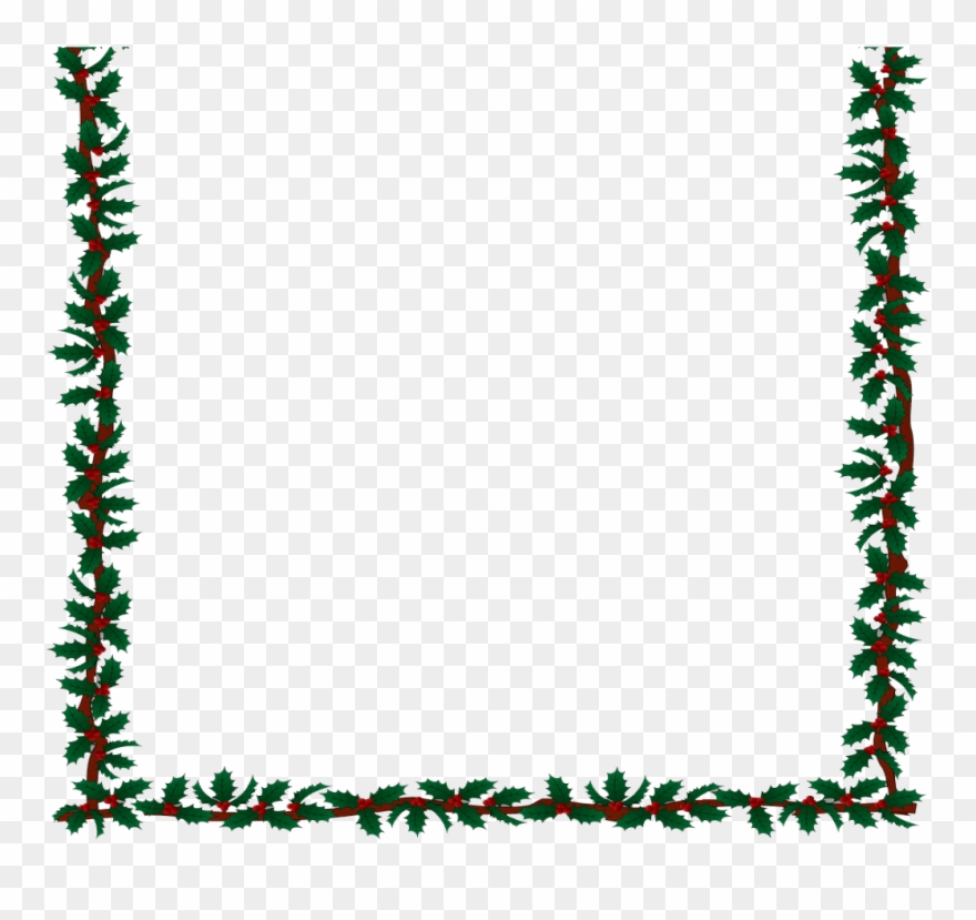 Christmas Candlelight Clipart Border Clipground.