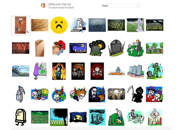 Microsoft kills Clip Art, replaces with Bing image search integration..