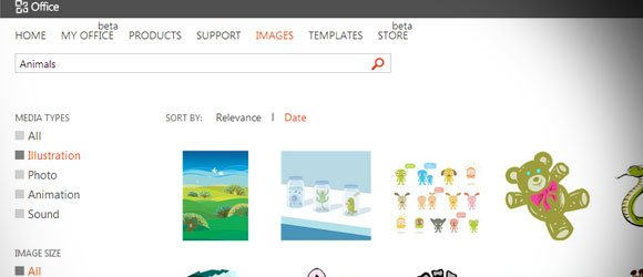 Download free Clipart Images from Microsoft Office website.
