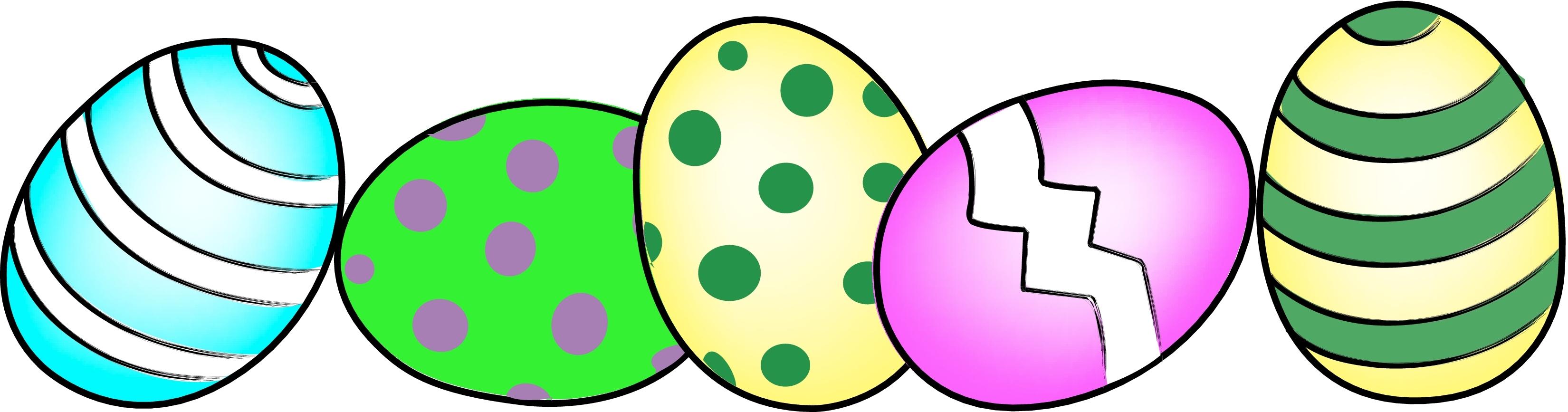 Microsoft Easter Eggs Clipart.