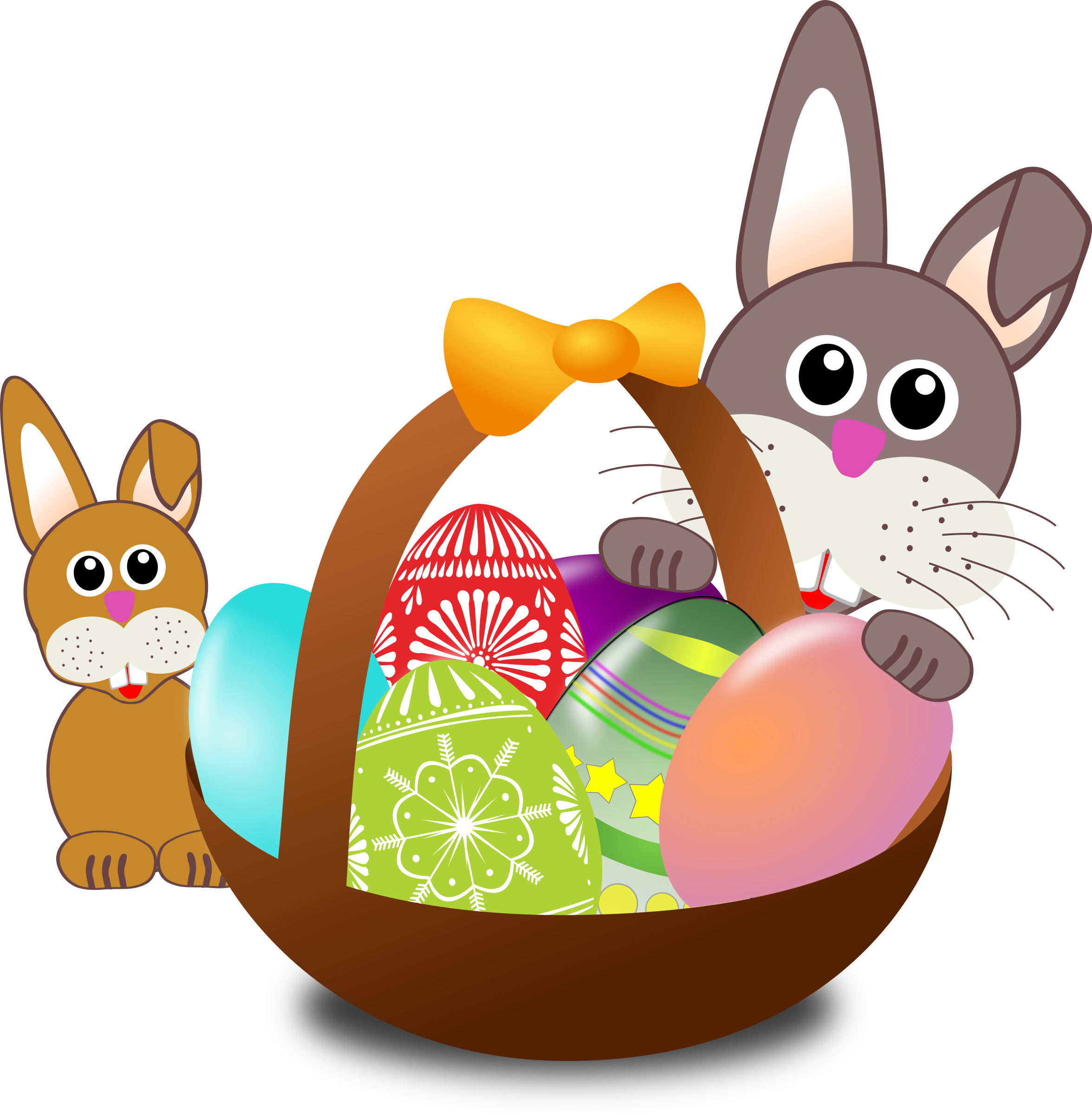 Microsoft Office Easter Clipart.