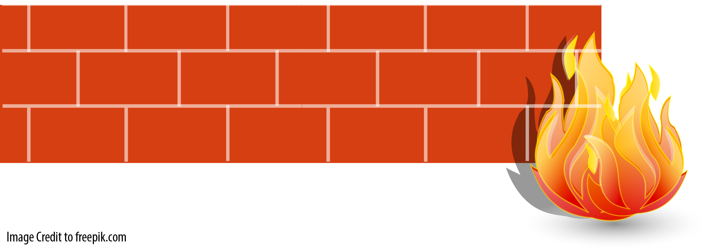 Microsoft Clipart Firewall.