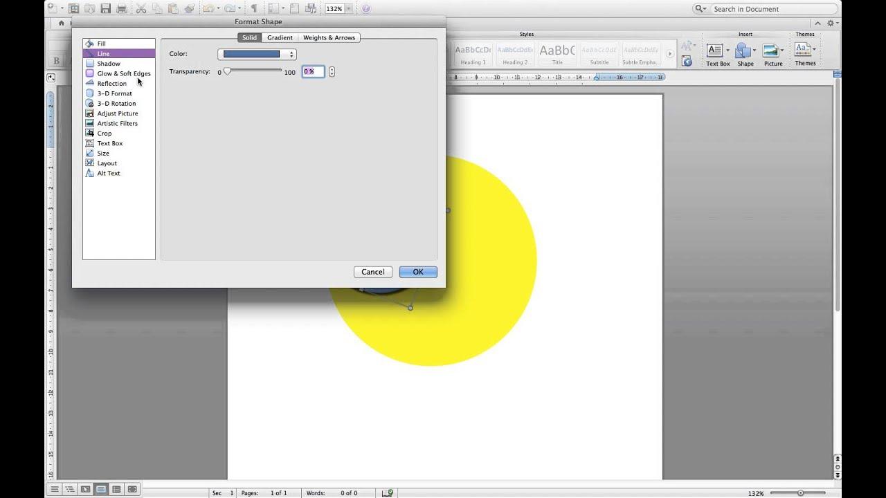 How to make clipart on Microsoft Word Mac.